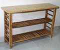 BCT-48C Bamboo Console Display table