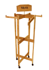 SBTR Series Engineered Bamboo Tower Clothing Rack